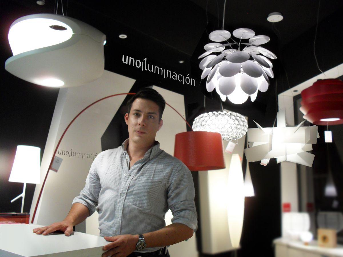 El norte de castilla reportaje uno iluminación Valladolid Daniel Alonso iluminación y lamparas de diseño