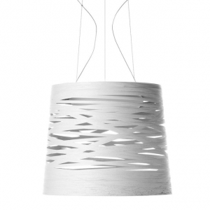 TRESS GRANDE COLGANTE LED REG. BLANCO